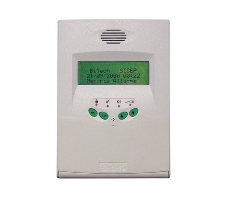 BT-KPE Tastiera LCD filare display verde