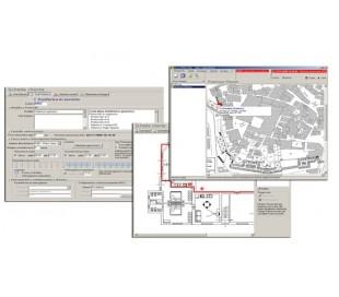 MVS-Lite/Plus  Software di centralizzazione allarmi Digitali, GSM, IP